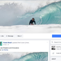 Vissla Brazil - Facebook Page - September 2016
